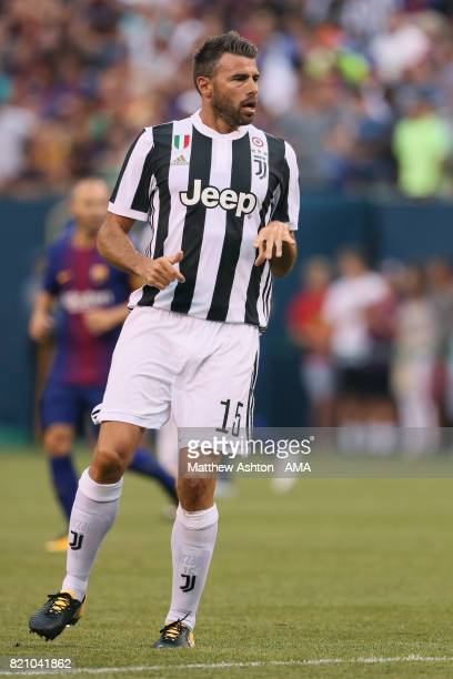 Andrea Barzagli of Juventus during the International Champions Cup 2017 match between Juventus and FC Barcelona at MetLife Stadium on July 22 2017 in...