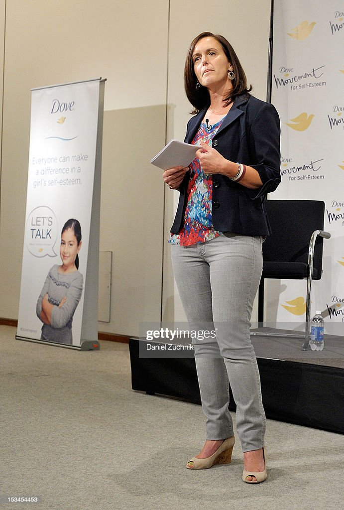Andrea Bastiani attends the 3rd Annual Dove Self-Esteem Weekend in Times Square on October 5, 2012 in New York City.