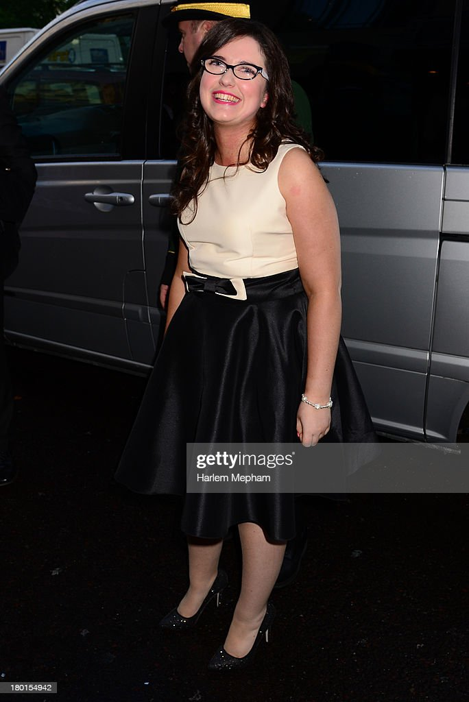 Andrea Begley sighting at the Dorchester Hotel on September 9, 2013 in London, England.