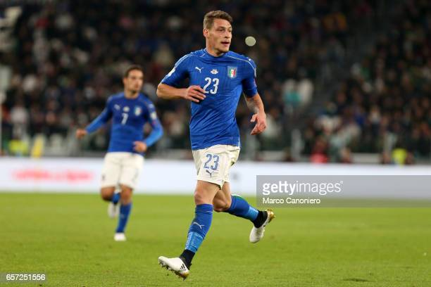 Andrea Belotti of Italy during the WC 2018 football qualification match between Italy and Spain The game ended 11