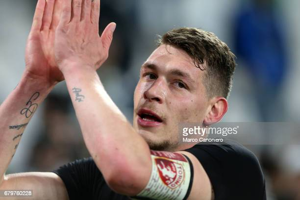 Andrea Belotti of Torino FC at the end of the Serie A football match between Juventus Fc and Torino Fc