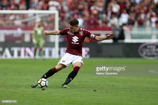 Andrea Belotti of Torino FC in action during the Serie A football match between Torino Fc and Uc Sampdoria