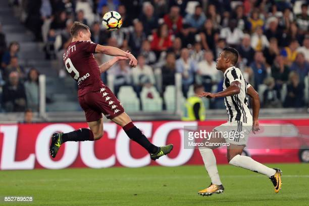 Andrea Belotti of Torino FC in action during the Serie A football match between Juventus Fc and Torino Fc Juventus won the game 4 goals to nil