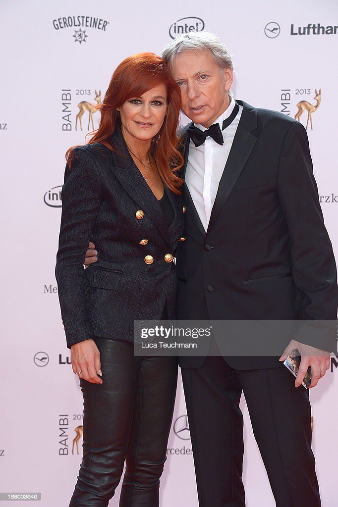 <a gi-track='captionPersonalityLinkClicked' href=/galleries/search?phrase=Andrea+Berg&family=editorial&specificpeople=2500874 ng-click='$event.stopPropagation()'>Andrea Berg</a> and Uli Ferber attend the Bambi Awards 2013 at Stage Theater on November 14, 2013 in Berlin, Germany.