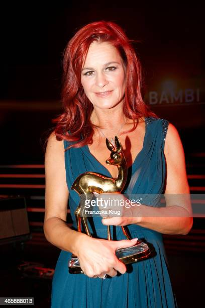 Andrea Berg attends the Bambi Awards 2013 at Stage Theater on November 14 2013 in Berlin Germany