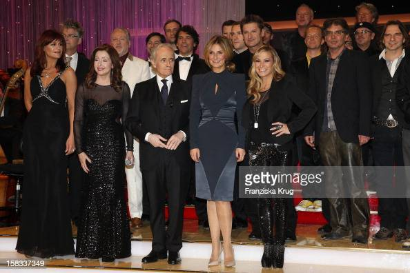 Andrea Berg Vicky Leandros Jose Carreras Kim Fisher and Anastacia of the 18th Annual Jose Carreras Gala on December 13 2012 in Leipzig Germany