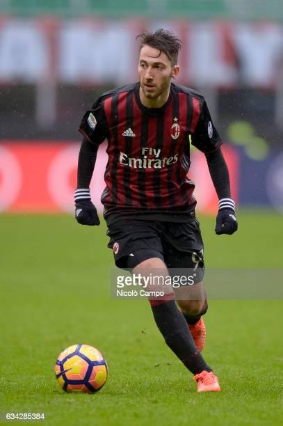 Andrea Bertolacci of AC Milan in action during the Serie A football match between AC Milan and UC Sampdoria UC Sampdoria wins 10 over AC Milan