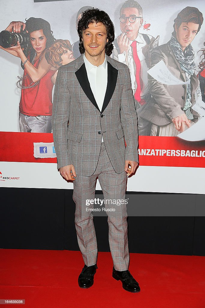 Andrea Boccia attends the 'Outing' premiere at Cinema Adriano on March 25, 2013 in Rome, Italy.