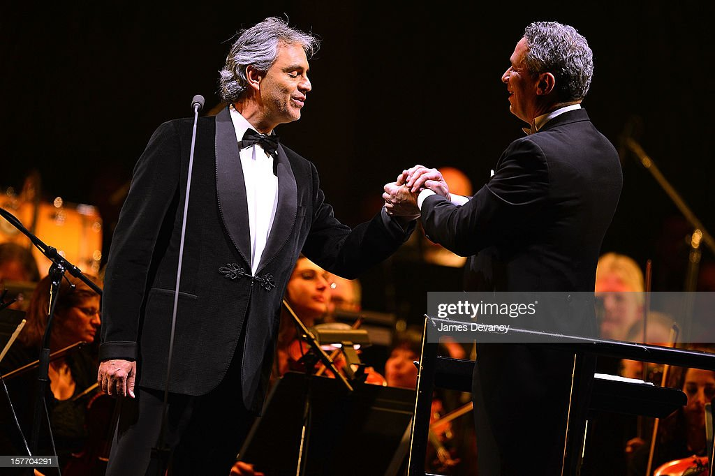 <a gi-track='captionPersonalityLinkClicked' href=/galleries/search?phrase=Andrea+Bocelli&family=editorial&specificpeople=211558 ng-click='$event.stopPropagation()'>Andrea Bocelli</a> and Eugene Kohn perform at Barclays Center on December 5, 2012 in the Brooklyn borough of New York City.
