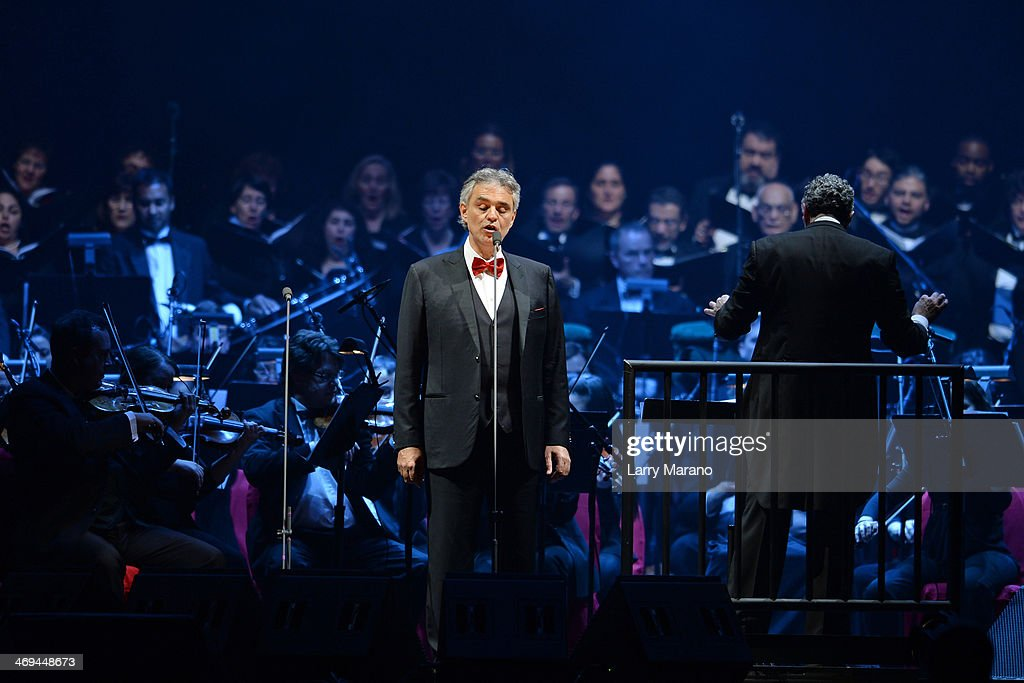 <a gi-track='captionPersonalityLinkClicked' href=/galleries/search?phrase=Andrea+Bocelli&family=editorial&specificpeople=211558 ng-click='$event.stopPropagation()'>Andrea Bocelli</a> performs a Valentines Day concert at BB&T Center on February 14, 2014 in Sunrise, Florida.