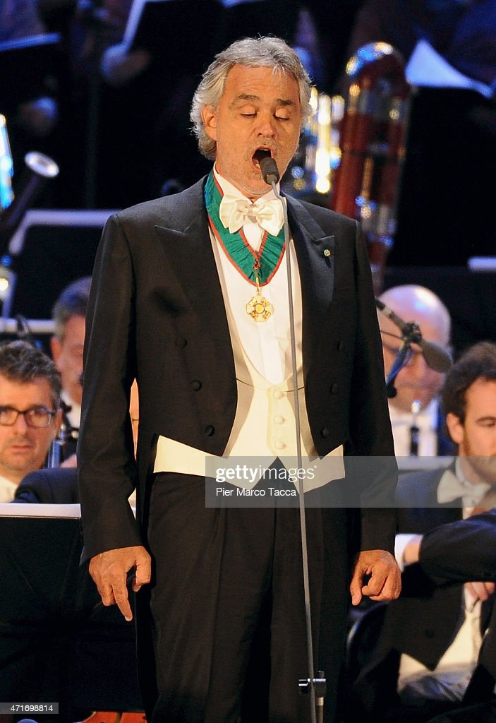 <a gi-track='captionPersonalityLinkClicked' href=/galleries/search?phrase=Andrea+Bocelli&family=editorial&specificpeople=211558 ng-click='$event.stopPropagation()'>Andrea Bocelli</a> performs during the Opening Event Expo 2015 at Piazza Duomo on April 30, 2015 in Milan, Italy.