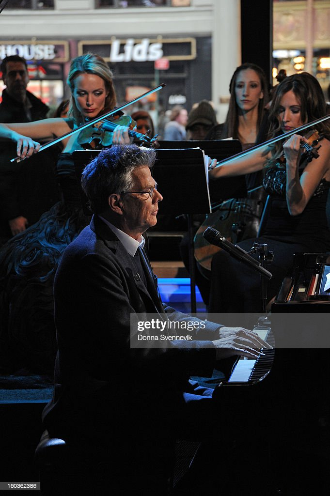 AMERICA - Andrea Bocelli performs live on 'Good Morning America,' 1/29/13, airing on the ABC Television Network. (Photo by Donna Svennevik/ABC via Getty Images) DAVID