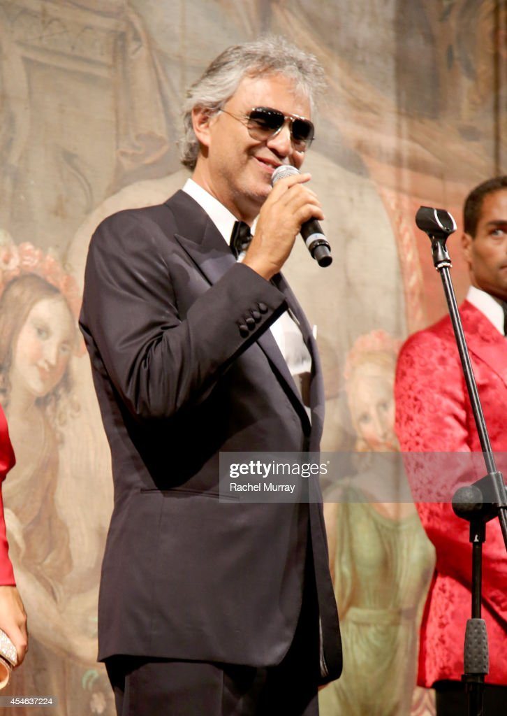 Celebrity Fight Night in Italy - Andrea Bocelli