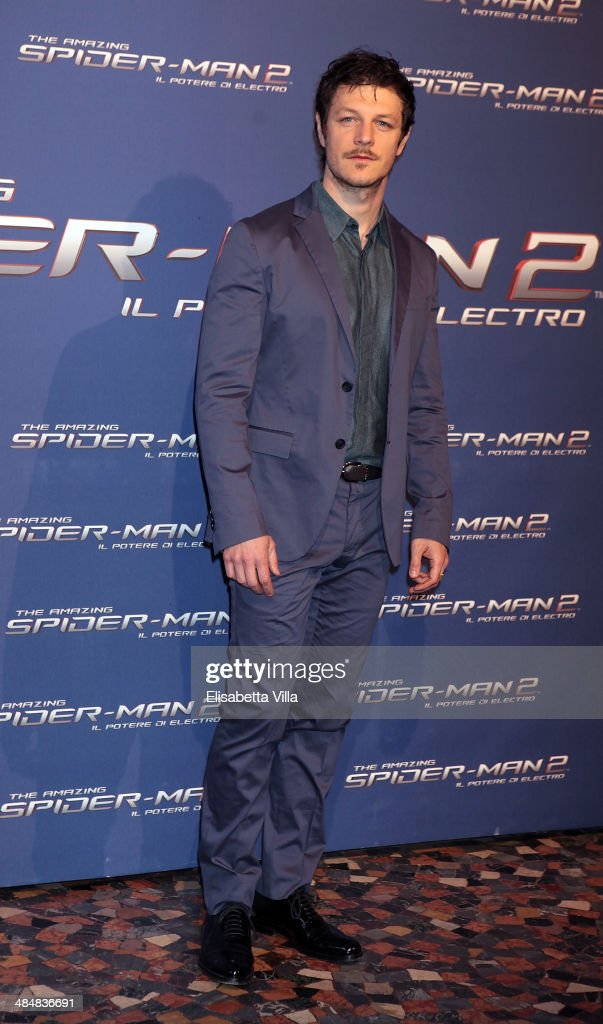 Andrea Bosca attends 'The Amazing Spider-Man 2: Rise Of Electro' Rome Premiere at The Space Moderno Cinema on April 14, 2014 in Rome, Italy.