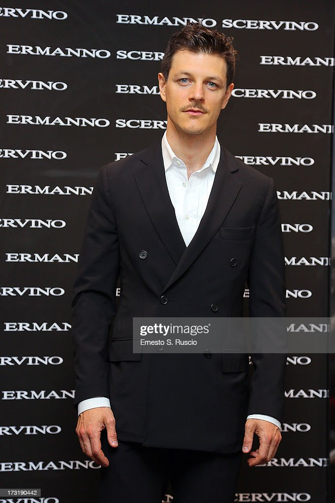 Andrea Bosca attends the Ermanno Scervino Store Opening as a part of AltaRoma AltaModa on July 9, 2013 in Rome, Italy.