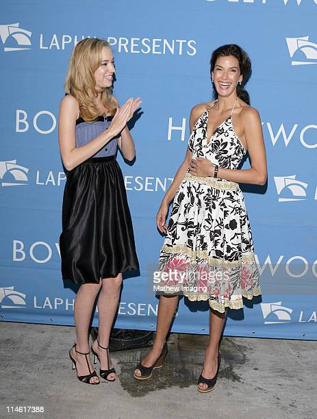 Andrea Bowen and Teri Hatcher during 'The Sound of Music' at the Hollywood Bowl July 29 2006 at Hollywood Bowl in Los Angeles California United States