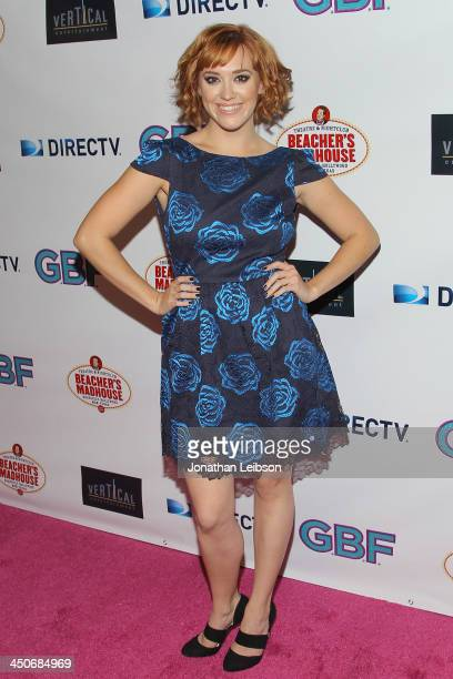 Andrea Bowen attends the 'GBF' Los Angeles Premiere at Chinese 6 Theater Hollywood on November 19 2013 in Hollywood California