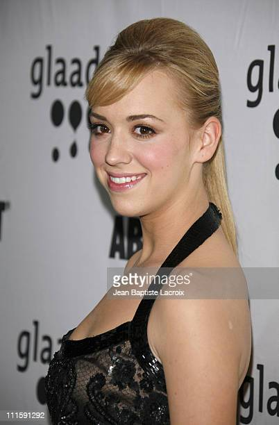 Andrea Bowen during 18th Annual GLAAD Media Awards Los Angeles Arrivals at Kodak Theatre in Hollywood California United States