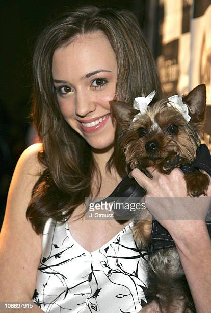 Andrea Bowen during 7th Annual 'Paws for Style' Celebrity Pet Fashion Benefiting Animal Medical Center at The Avalon Theater in Los Angeles...