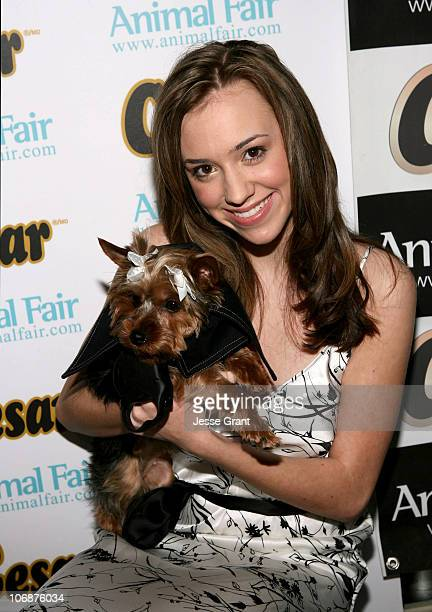 Andrea Bowen during CESAR Canine Cuisine Sponsors Animal Fair's 7th Annual 'Paws for Style' Celebrity Pet Fashion Show Benefiting Animal Medical...