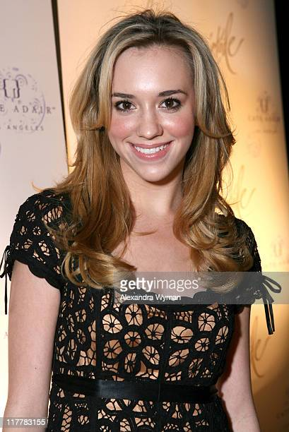 Andrea Bowen during Etoile Sparkling Wine Hosts Cate Adair Handbag Launch at Private Residence in Los Angeles California United States