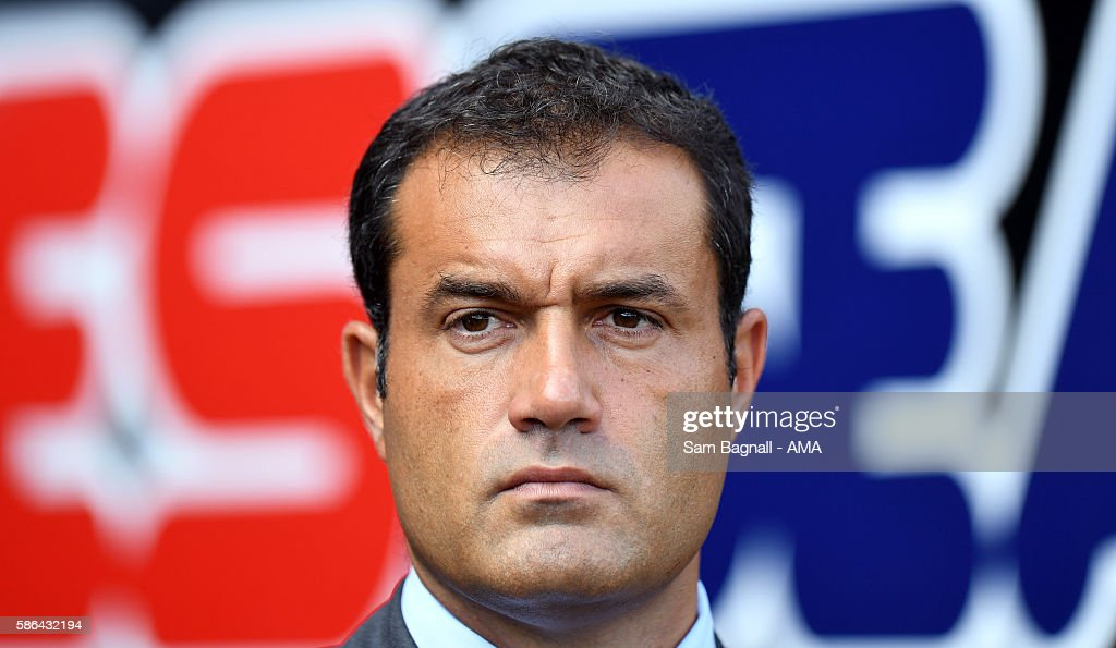 Andrea Butti Team General Manager of Wolverhampton Wanderers during the Sky Bet Championship match between Rotherham United v Wolverhampton Wanderers at The New York Stadium on August 6, 2016 in Rotherham, England.