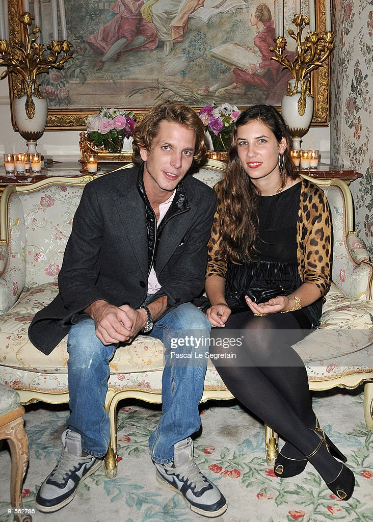 You are Andrea casiraghi tatiana santo domingo