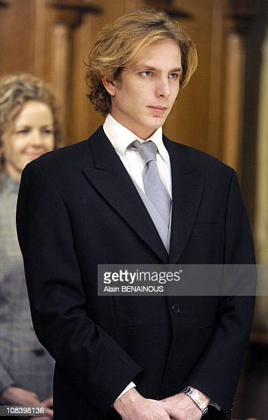 Andrea Casiraghi in Monte Carlo Monaco on November 19th 2009