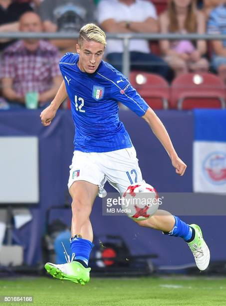 Andrea Conti during the UEFA European Under21 match between Italy and Germany on June 24 2017 in Krakow Poland