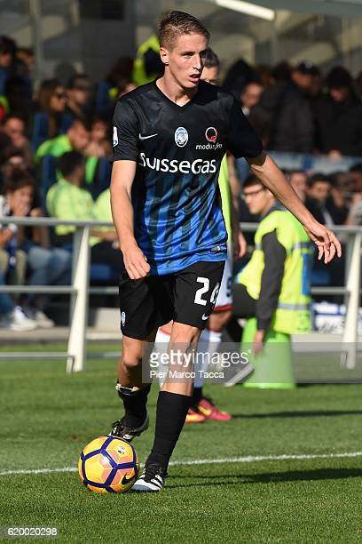 Andrea Conti of Atalanta BC in action during the Serie A match between Atalanta BC and Genoa CFC at Stadio Atleti Azzurri d'Italia on October 30 2016...