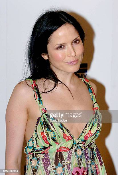 Andrea Corr during 2006 Sony Radio Academy Awards Inside Arrivals at Grosvenor House in London Great Britain
