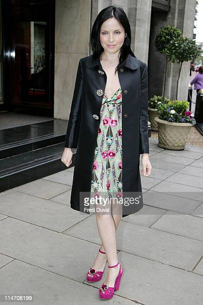 Andrea Corr during 2006 Sony Radio Academy Awards Outside Arrivals at Grosvenor House in London Great Britain United Kingdom