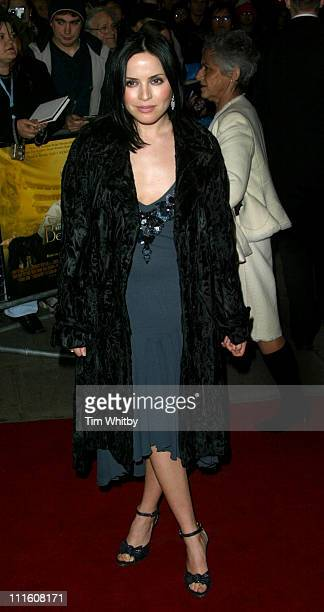 Andrea Corr during 'Being Julia' London Premiere at Apollo West End in London Great Britain