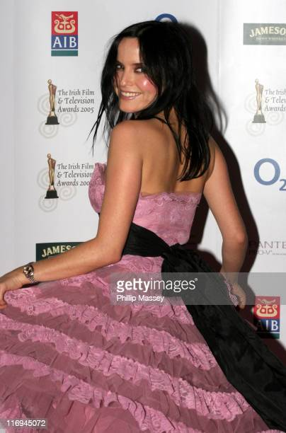 Andrea Corr during Irish Film and Television Awards 2005 Press Room at Royal Dublin Society in Dublin Ireland