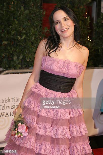 Andrea Corr during Irish Film and Television Awards 2005 Red Carpet at Royal Dublin Society in Dublin Ireland