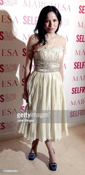 Andrea Corr during Marchesa Launches Exclusive Collection at Selfridges at Selfridges in London Great Britain