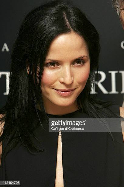 Andrea Corr during 'The Bridge' London Premiere at Odeon Leicester Square in London Great Britain