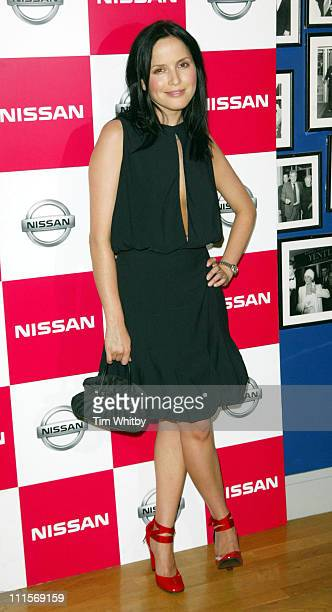 Andrea Corr during 'The Bridge' London Premiere at Odeon West End in London Great Britain