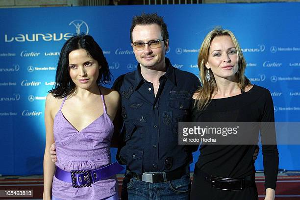 Andrea Corr Jim Corr and Sharon Corr from The Corrs