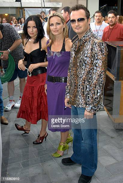 Andrea Corr Sharon Corr and Jim Corr of The Corrs