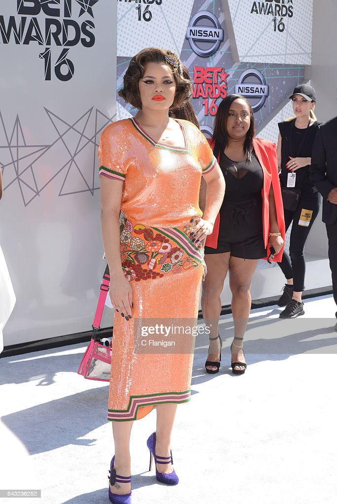 Andrea Day attends the 2016 BET Awards at Microsoft Theater on June 26, 2016 in Los Angeles, California.
