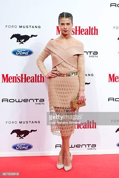Andrea del Rio attends Men's Health 2015 Awards on January 28 2016 in Madrid Spain