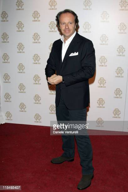 Andrea Della Valle attends the opening of the world`s first Cavalli Club on December 13 2008 in Florence Italy