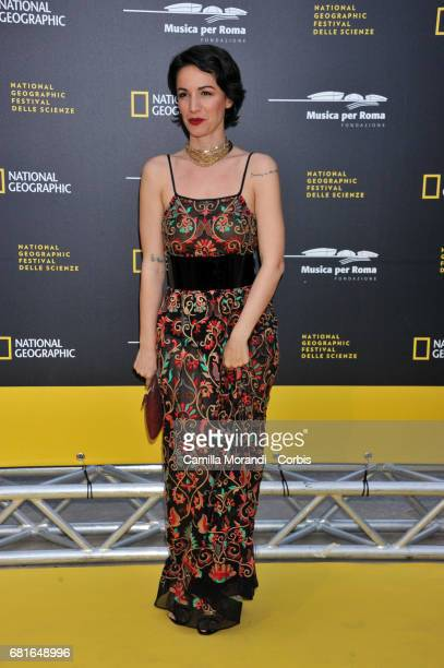 Andrea Delogu attends National Geographic's 'Genius Einstein' photocall on May 10 2017 in Rome Italy