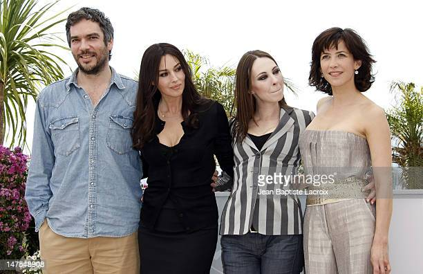 Andrea Di Stefano Monica Bellucci Marina De Van and Sophie Marceau attend the 'Don't Look Back' Photo Call at the Palais des Festivals during the...