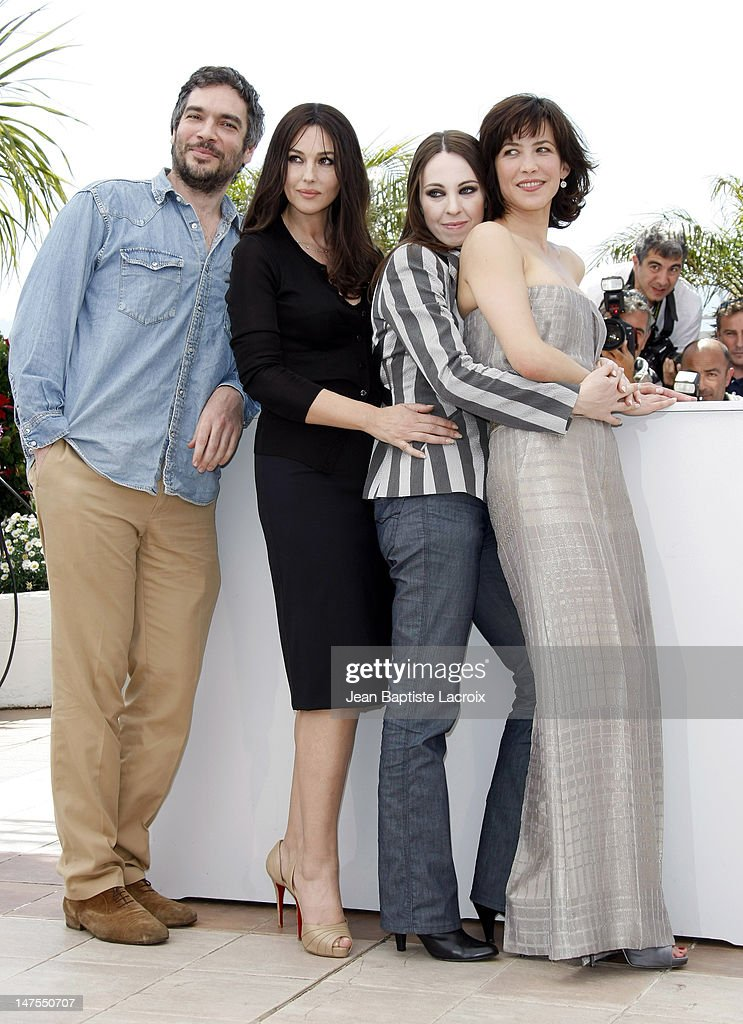 Andrea Di Stefano, <a gi-track='captionPersonalityLinkClicked' href=/galleries/search?phrase=Monica+Bellucci&family=editorial&specificpeople=204777 ng-click='$event.stopPropagation()'>Monica Bellucci</a>, Marina De Van and <a gi-track='captionPersonalityLinkClicked' href=/galleries/search?phrase=Sophie+Marceau&family=editorial&specificpeople=220531 ng-click='$event.stopPropagation()'>Sophie Marceau</a> attend the 'Don't Look Back' Photo Call at the Palais des Festivals during the 62nd Annual Cannes Film Festival on May 16, 2009 in Cannes, France.