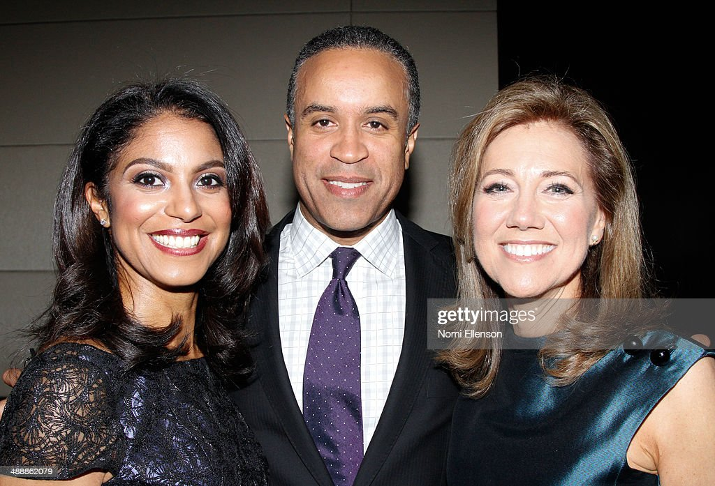 Andrea Dubois Maurice DuBois and Silda Wall Spitzer attend the 2014 generationOn Benefit at Mandarin Oriental Hotel on May 8 2014 in New York City