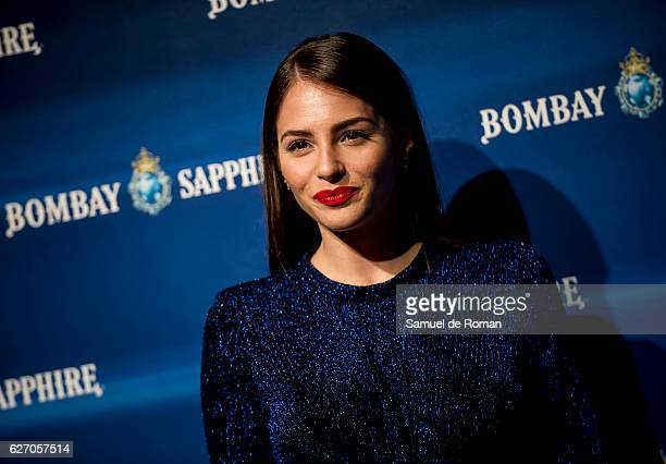 Andrea Duro at 'The Grand Journey' Party in Madrid on December 1 2016 in Madrid Spain