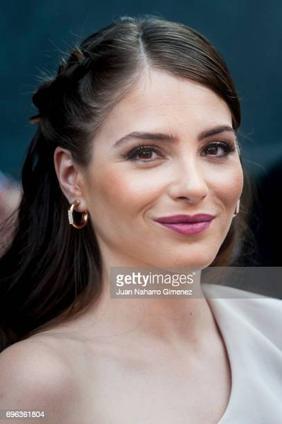 Andrea Duro attends Hair Fashion Night photocall at Callao Cinema on June 15 2017 in Madrid Spain