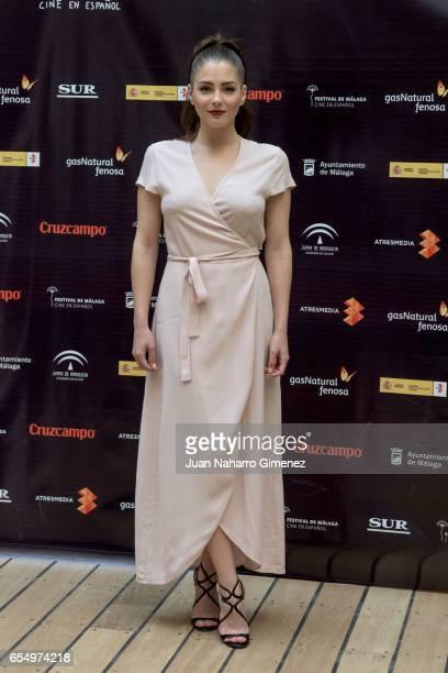 Andrea Duro attends photocall during the 20th Malaga Film Festival 2017 at UMA Rectorado on March 18 2017 in Malaga Spain